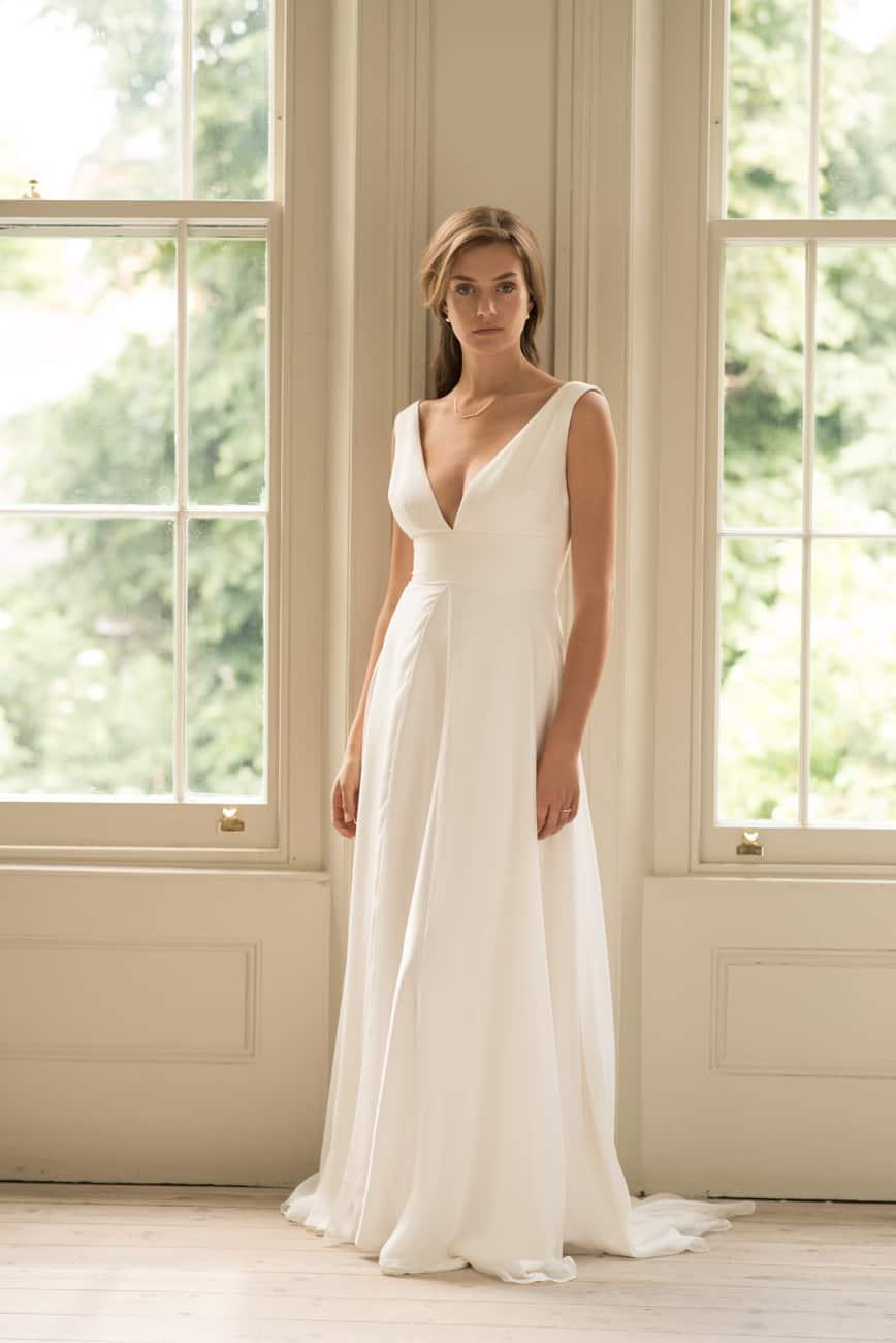 innovative design b22f4 fd9a9 Elegante Brautkleider von Andrea Hawkes - London - goldelse