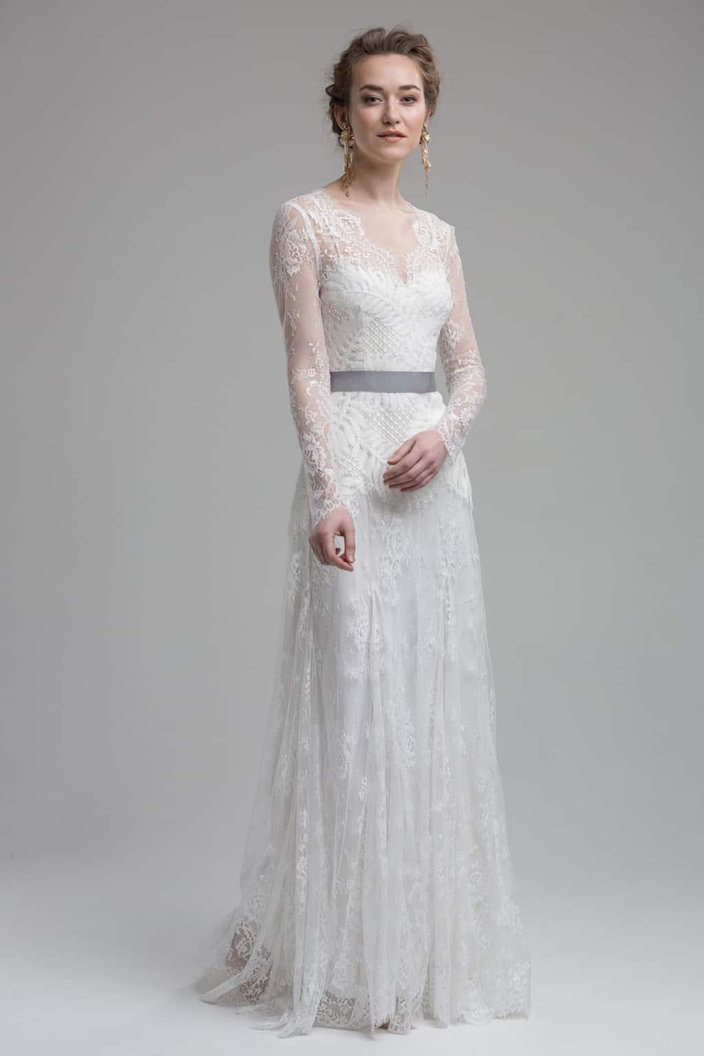 Sydney - 2in1 Kleid aus wunderschöner, von der Natur inspirierter, Spitze.
